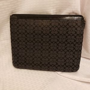 Coach Tablet Pouch/ Cosmetic Bag